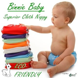 Binnie Baby Superior Single Modern Cloth Nappies
