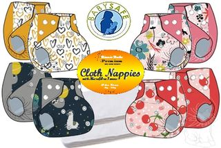 Binnie Baby Premium Twin pack Modern Cloth Nappy