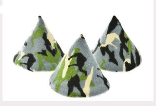 GREEN CAMO Pee-Pee Teepee 5 packet