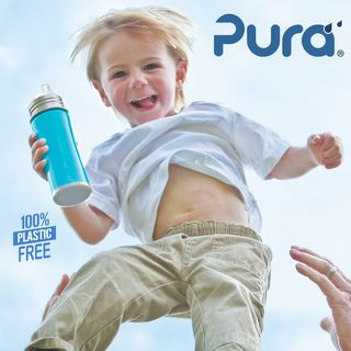 Pura Kiki 260ml Insulated TODDLER Sippy Stainless Bottle