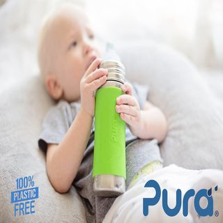 Pura Kiki® 325ml INFANT Stainless Bottle - Medium Teat