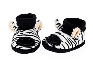 Diinglisar Ltd Edition Zebra Slippers