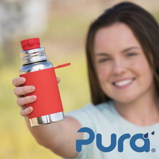 Pura Sport 550ml Stainless Drinking Bottle
