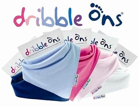 Pack of 4 Dribble Ons White Bib