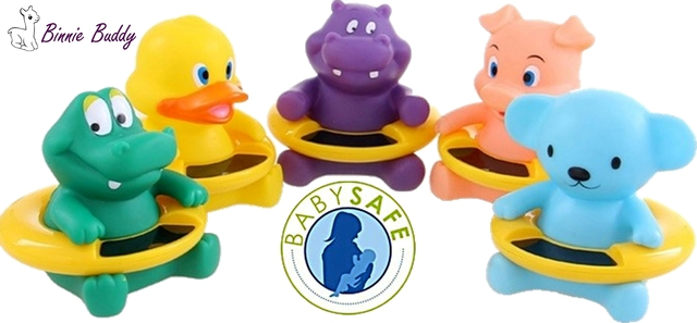 BABY Bath Thermometers - Binnie Buddies