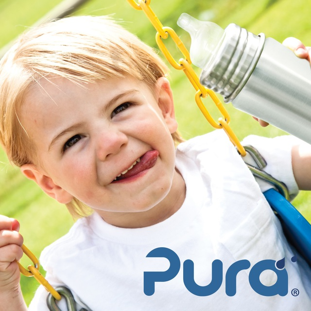 Pura Kiki 325ml TODDLER Straw Bottles