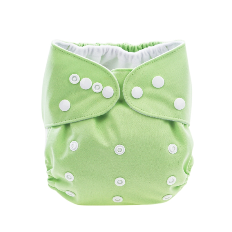Binnie Cloth Nappy incl. Microfibre Inner - Green
