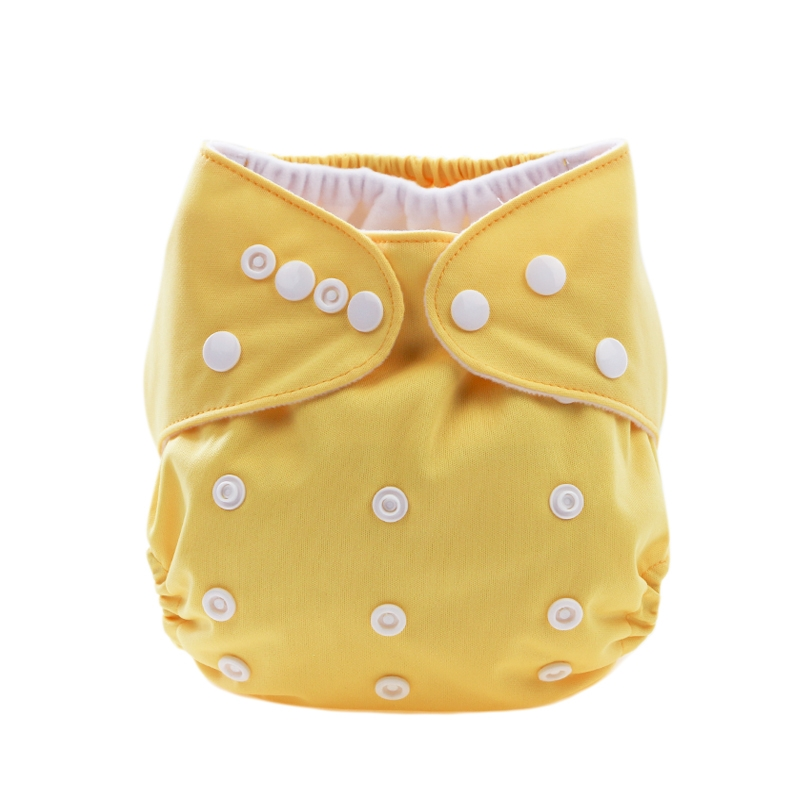 Binnie Cloth Nappy incl. Microfibre Inner - Yellow