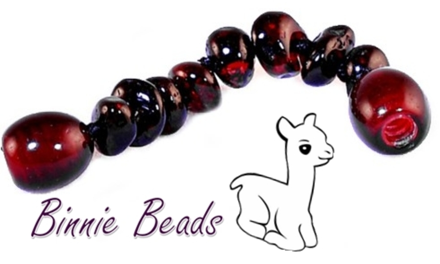 Baltic Amber Beads Extension 5cm - Cherry Coloured