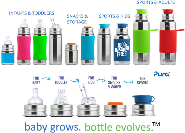 Pura Stainless Bottle LIDS & ACCESSORIES